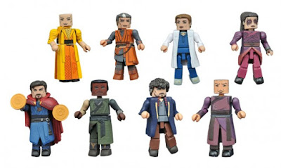 Doctor Strange Movie Marvel Minimates Series by Diamond Select Toys - Dr. Strange, The Ancient One, Mordo, Kaecilius, Stephen Strange, Christine Palmer, Wong & Zealot