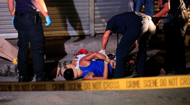 aksi brutal dan sadis bagi pengedar dan bandar narkoba di filipina