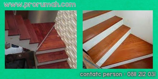 papan kayu untuk tangga