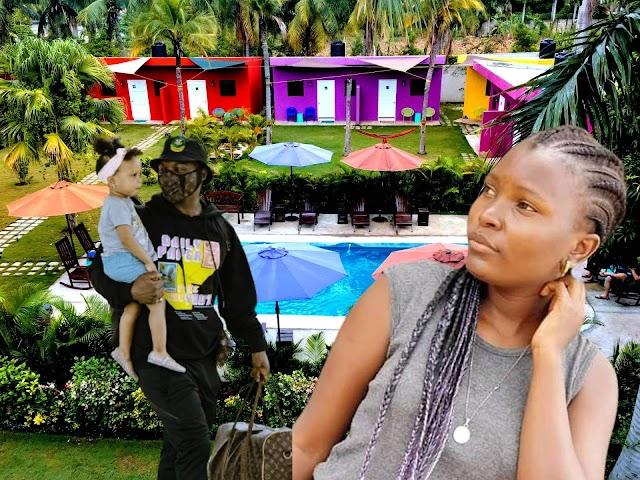 Anjella, from Tanzania, got a chance to meet Harmonize in Konde Gang HQ.
