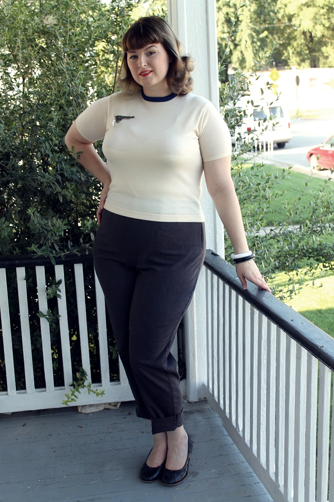 vintage plus size pin up casual fashion