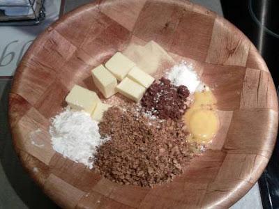 حلوة الشوكولاته وجوز الهند