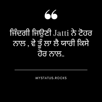 Punjabi Status Sardari