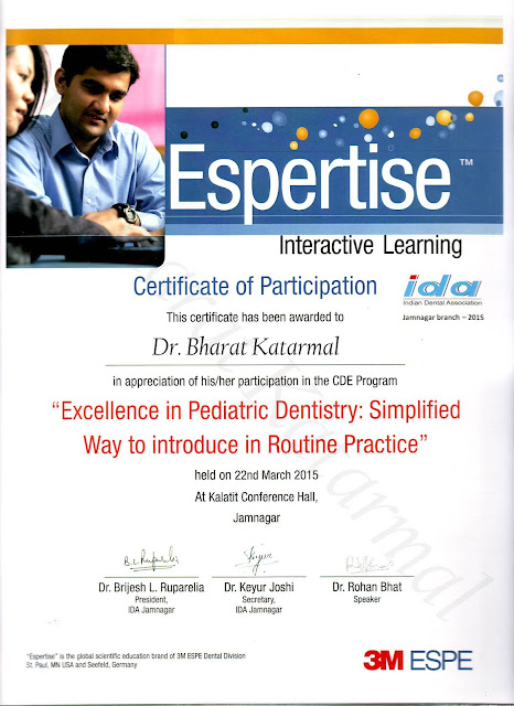 Excellence in Pediatric Dentistry simplified way to introduce in Routine Practice by Dr.Rohan Bhatt