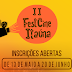 O FestCine Itaúna -Festival Internacional de Cinema Estudantil está com as inscrições abertas