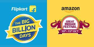 Amazon great Indian festival sale & Flipkart Big Billion Day Sale
