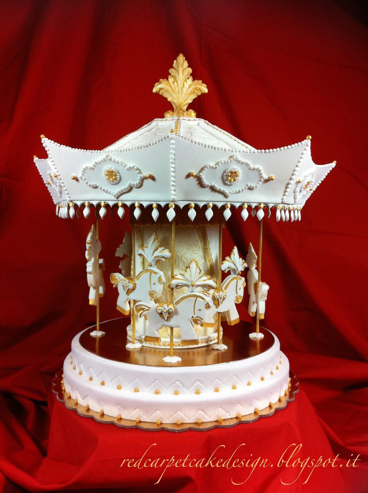 Red Carpet Cake Design®: CAROUSEL CAKE- pubblicato in Cucina ...