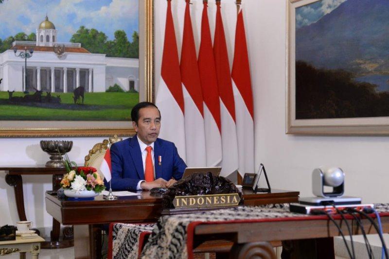Bahas Covid-19, Jokowi Ikuti KTT Gerakan Non-Blok Virtual