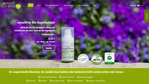 Naturkosmetik Shop online für die empfindliche, irritierte Haut