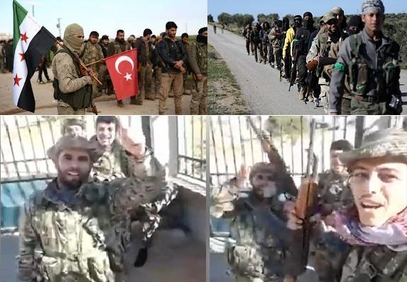 الطبل في أستنبول والمزمار بيد النظام السوري والمرتزقة على رأس الدبكة