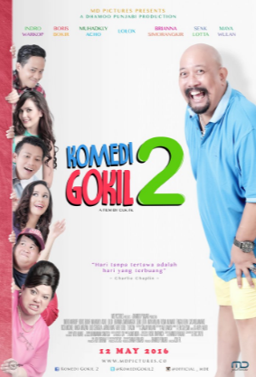 Download Komedi Gokil 2 (2016) HDRip 720p