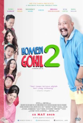 Download Komedi Gokil 2 (2016) HDRip 720p