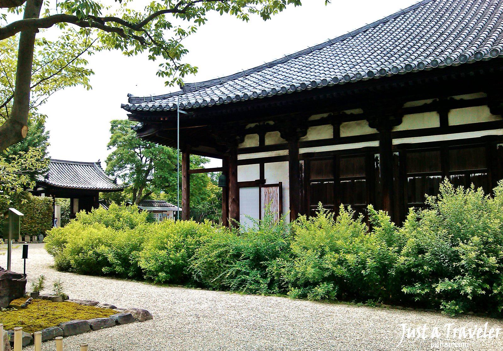 奈良-景點-推薦-元興寺-Gangoji Temple-市區-自由行-必玩-必遊-必去-旅遊-觀光-日本-Nara-Tourist-Attraction