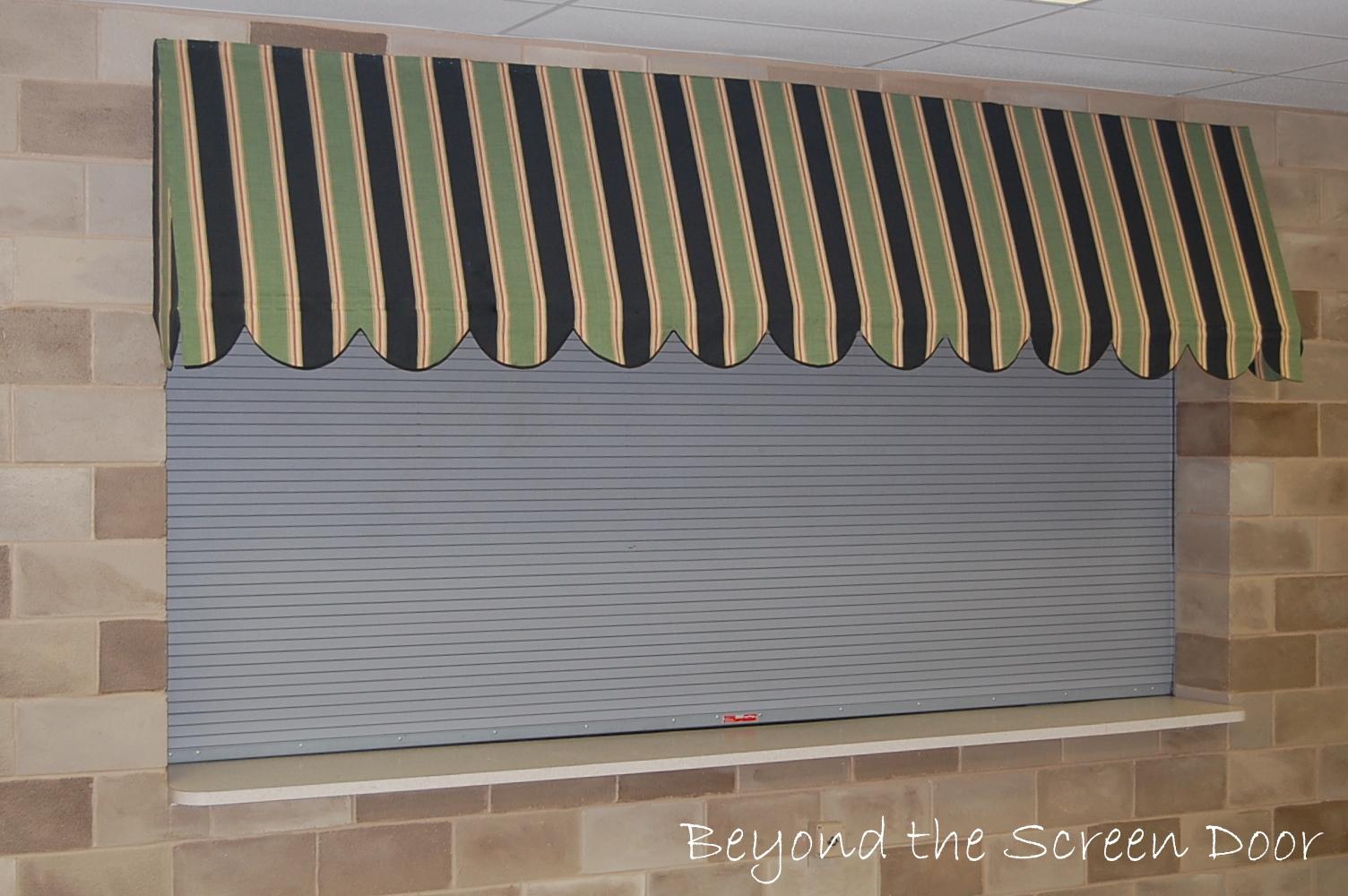 How To Make An Interior Window Awning Sonya Hamilton Designs