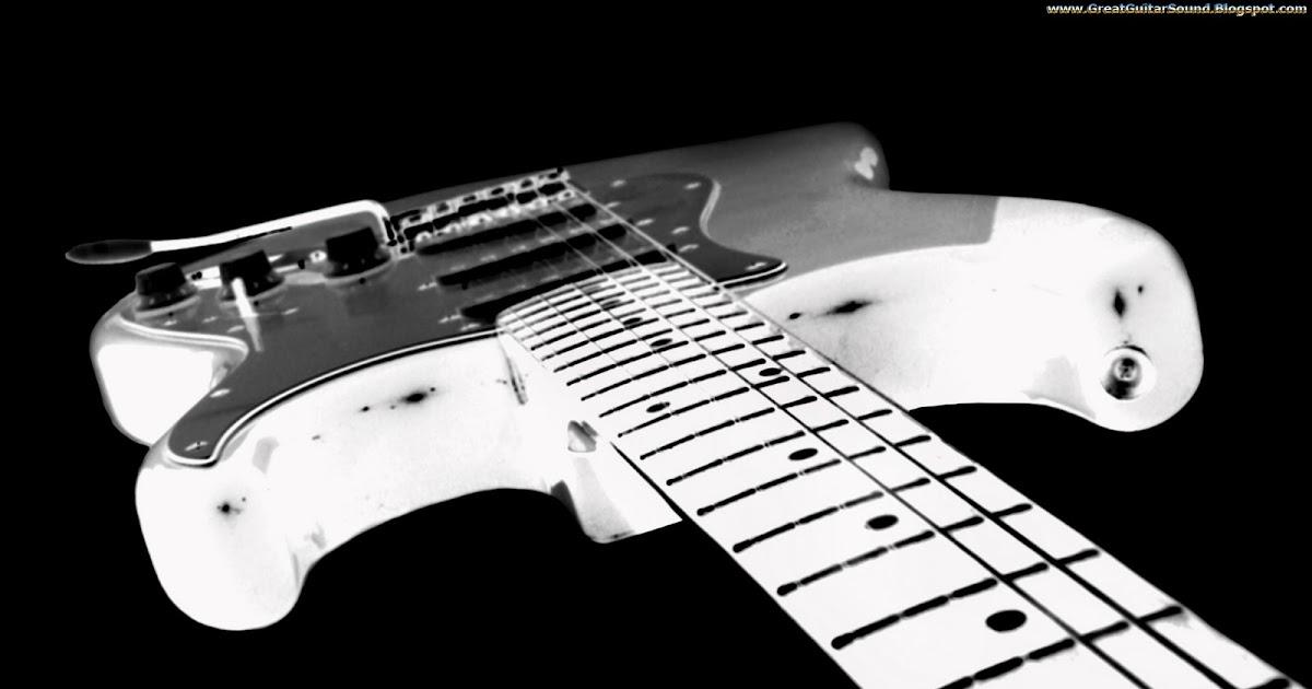 great guitar sound guitar wallpaper black and white fender stratocaster electric guitar body. Black Bedroom Furniture Sets. Home Design Ideas