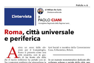 Intervista a Paolo Ciani: Roma città universale e periferica - Policlic