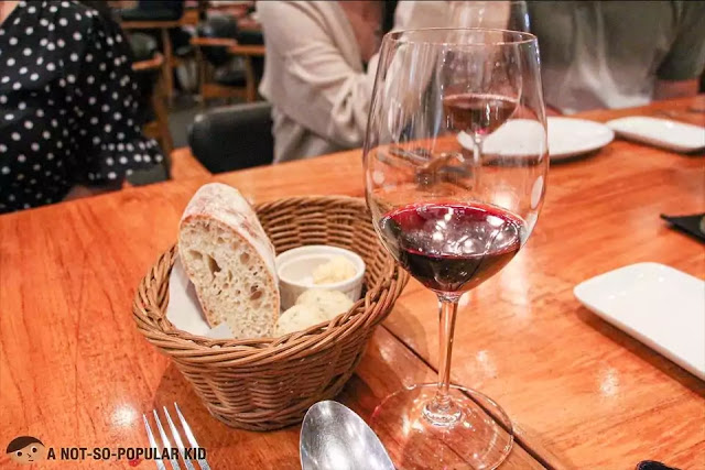 Wine night in Salvatore Cuomo, BGC