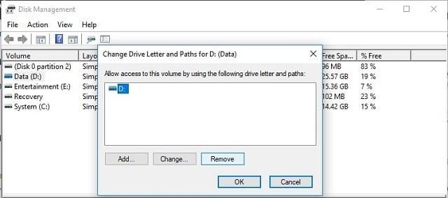 Cara menyembunyikan Drive (partisi) di Windows 10