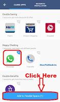 how to use 2 whatsapp in dual sim phone