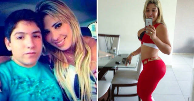 Monique Motta la modelo brasileña de 30 años tiene un novio de 13 años