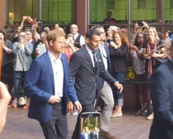 Prince Harry brings the charm to Toronto
