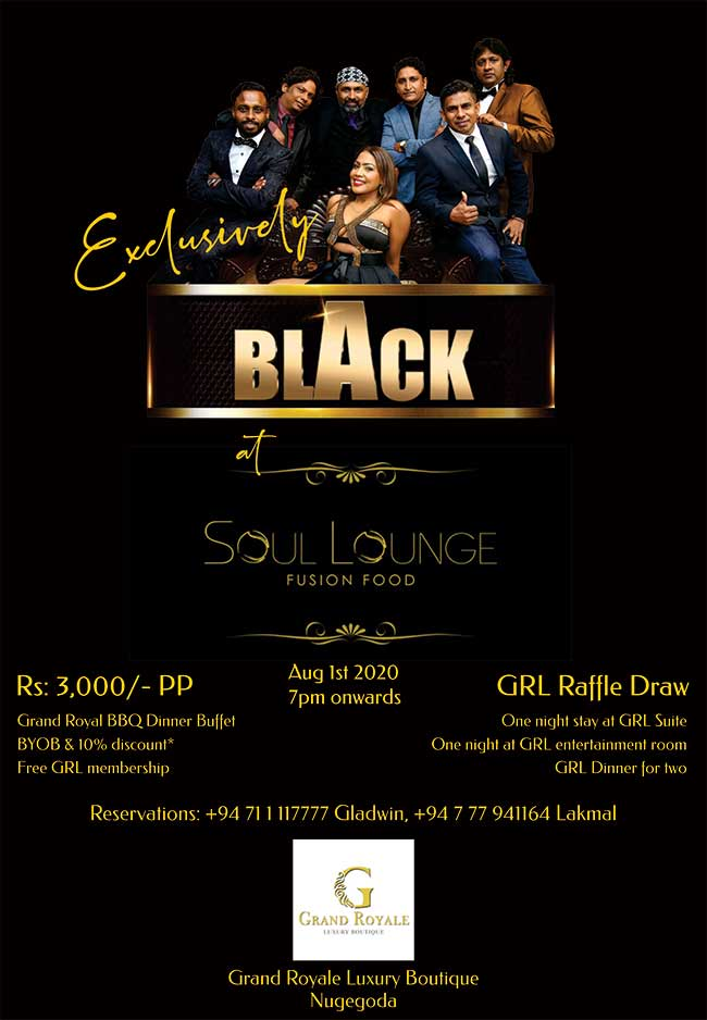 It's BLACK WEEK and your last chance to PARTY before the Elections