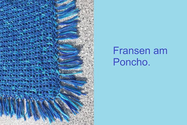 Fransen beim Poncho