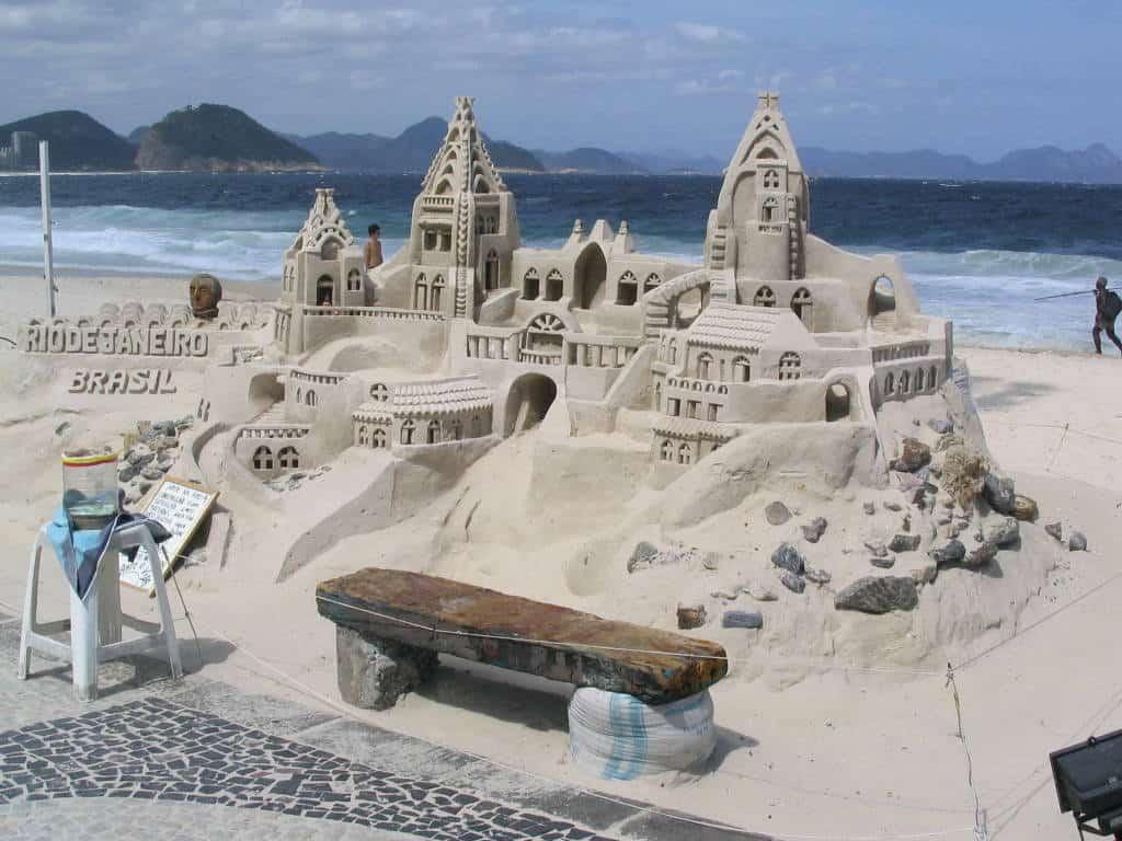 Sandcastle rio de janerio