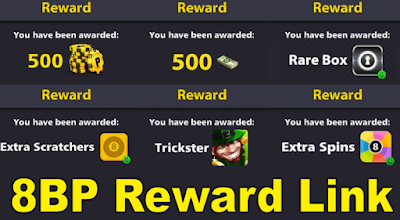 8 ball pool rewards link