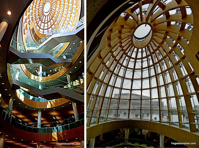 Ala moderna da Biblioteca Central de Liverpool