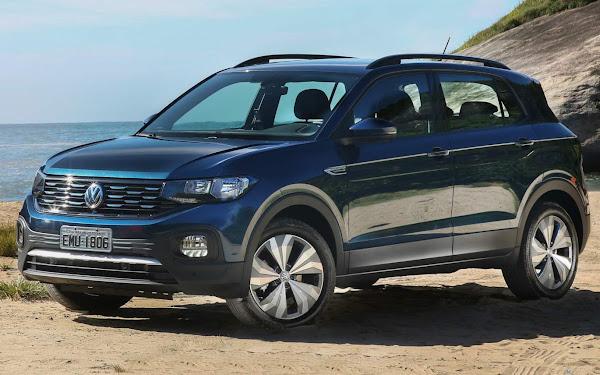 VW T-Cross - 6º carro mais vendido do Brasil em agosto