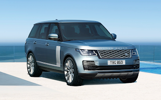 Range Rover Autobiography in Byron Blue
