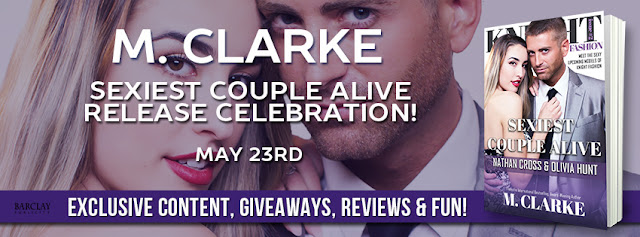 #ReleaseDay: Sexiest Men Alive by M. Clarke