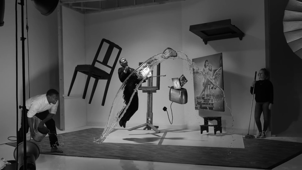 A Recreation of Philippe Halsman's 'Dali Atomicus'  by Karl Taylor