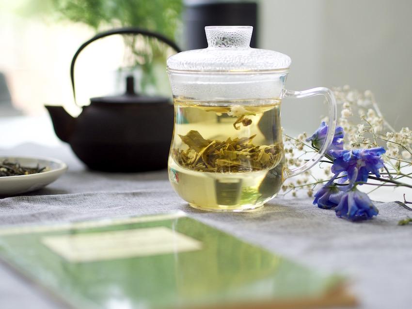 infuser cup for loose leaf tea