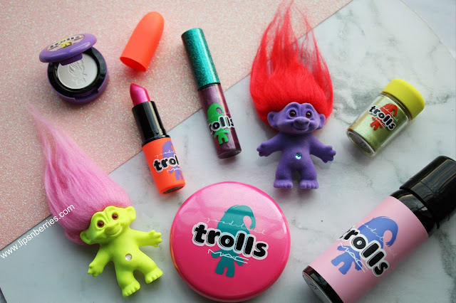 best of MAC Good luck trolls collection