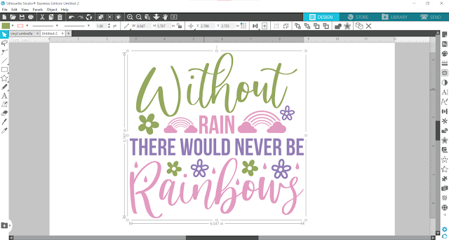oracal 651, adhesive vinyl, vinyl on umbrella, kids projects, silhouette project ideas