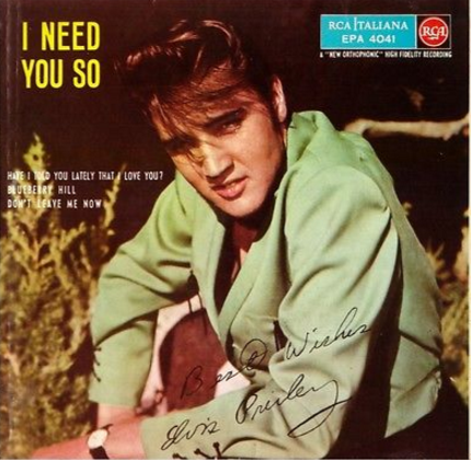 ELVIS PESLEY: I NEED YOU SO: RARE EP