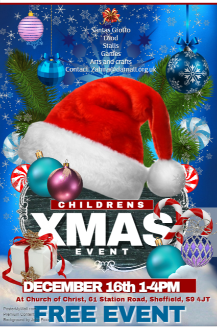 Children's Christmas Party Poster