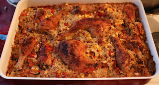 Superb chicken and rice dish