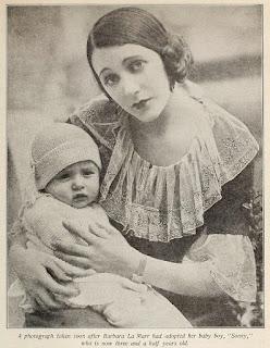 Barbara La Marr & Her Son
