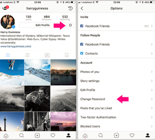 How Can I Change Password for Instagram
