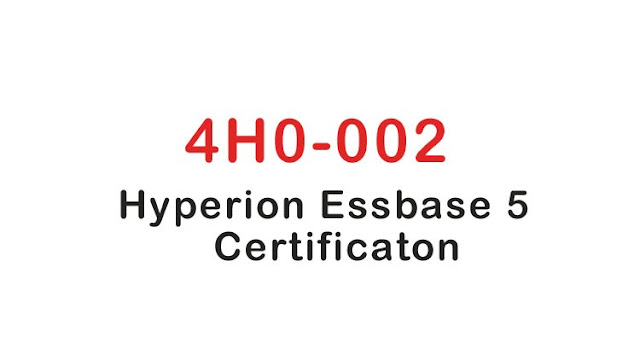4H0-002 Hyperion Essbase 5 Certification Exam