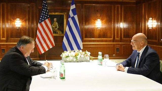 Δένδιας – Πομπέο: Στο τραπέζι η τουρκική παραβατικότητα και οι σχέσεις Ελλάδας-ΗΠΑ