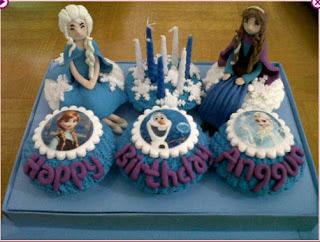 Kue Ulang Tahun Cup Cake Anak