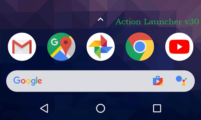 Action Launcher v30 'At a Glance'