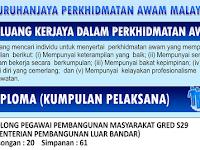 Jawatan Kosong Penolong Pegawai Pembangunan Masyarakat S29 di Kementerian Pembangunan Luar Bandar