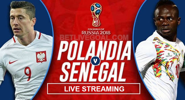 live streaming polandia vs senegal 19 juni 2018