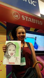 caricaturas coloridas, caricaturas ao vivo