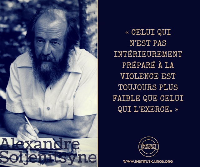 La violence, Soljenitsyne